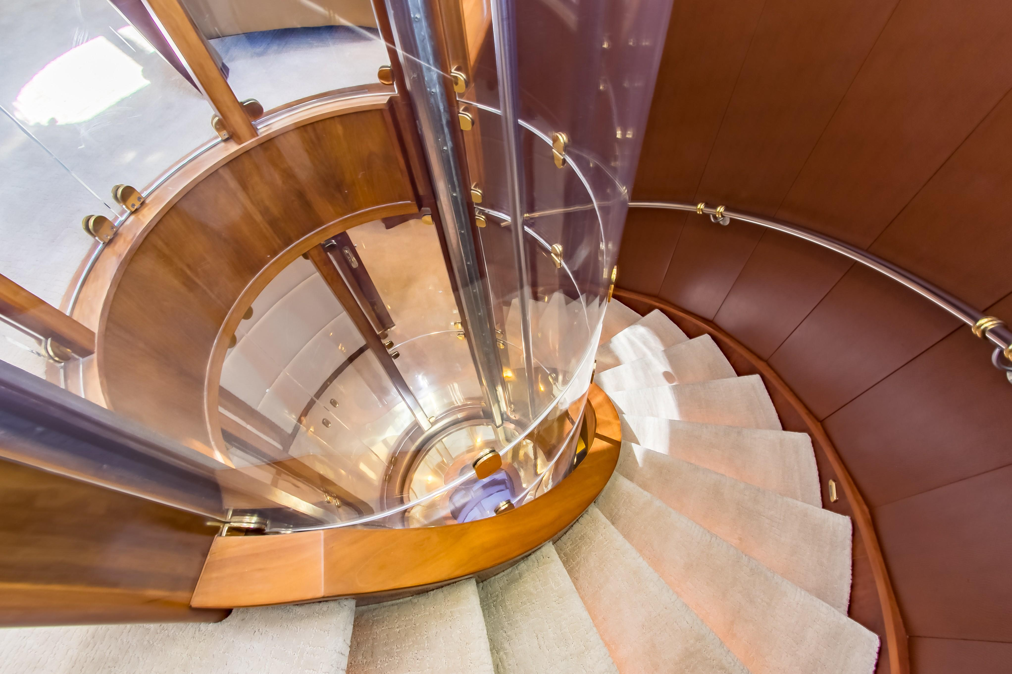 Stairs Image Gallery Luxury Yacht Browser By