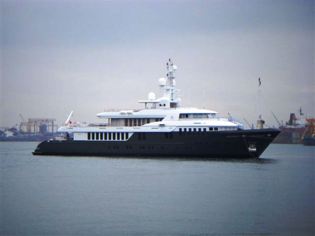 presidential yachts