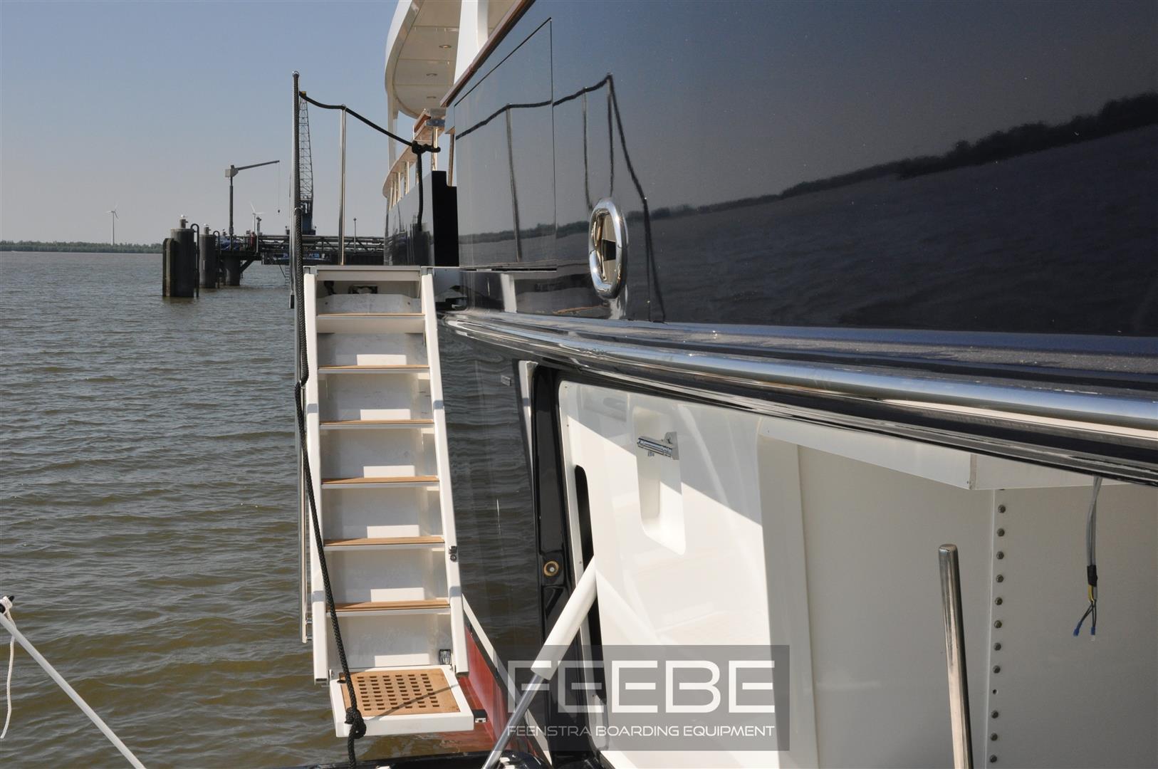 Heliad Ii Yacht Feebe Boarding Ladder Yacht Charter