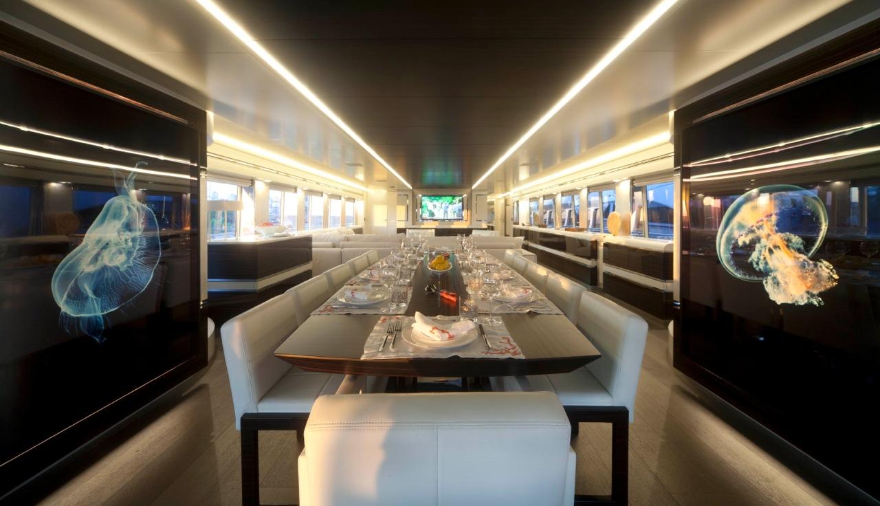 Luxury superyacht keyla interior by hot lab
