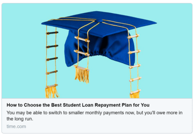How to Choose the Best Student Loan Repayment Plan | Charting Your Financial Future