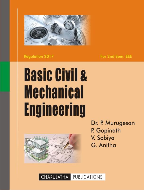 Charulatha Publications-Basic Civil  Mechanical Engineering - Basic P&l