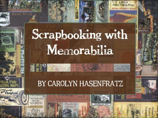 Scrapbooking With Memorabilia