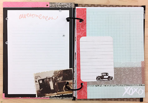 Journaling Page Layout Samples