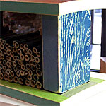 Pollinator House with Stencils