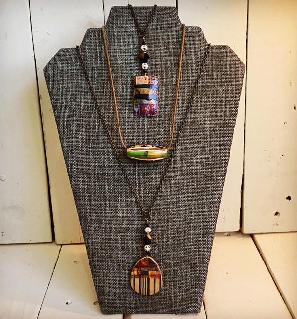 Image Transfers on Wood Jewelry