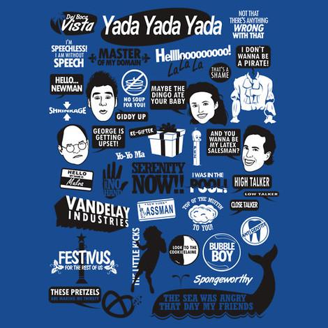 Pirate Wallpaper Quote Seinfeld T Shirts The Kramer T Shirt Newman Tees Soup Nazi