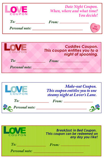 Free love coupons - Chatelaine