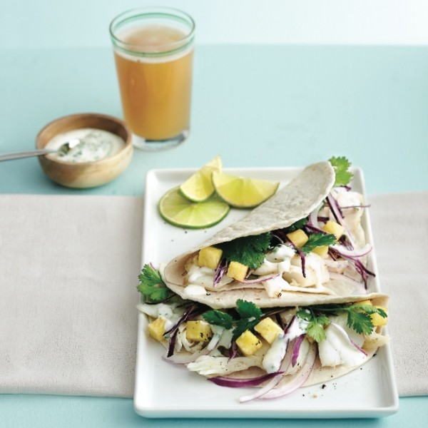 Tropical fish tacos recipe   Chatelaine
