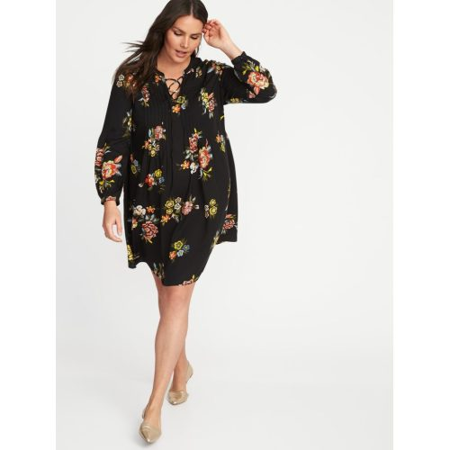 Medium Crop Of Plus Size Swing Dress