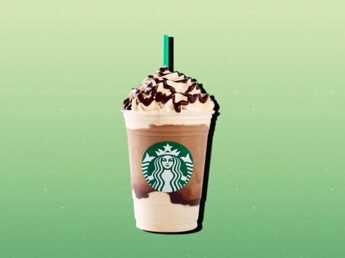 Medium Of Ultra Caramel Frappuccino