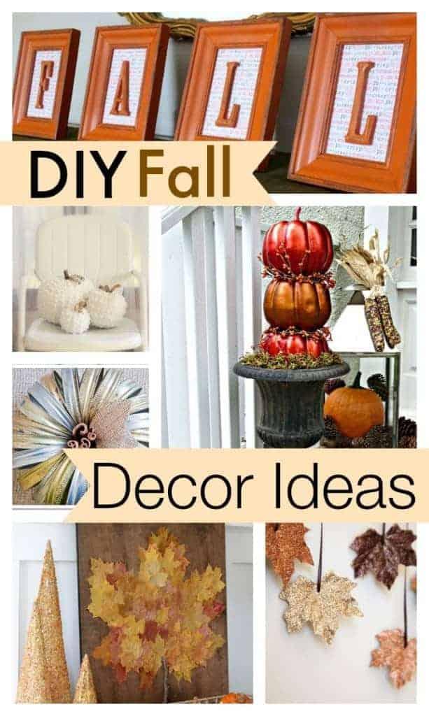10 Diy Fall Decor Ideas