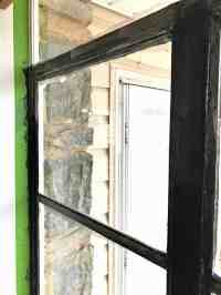 Painted Black Window Frames