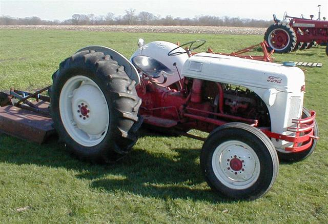 Ford 2n Tractor 6 Volt Wiring Diagram Ford 8n Tractor With Scrape Blade And Bush Hog For Sale