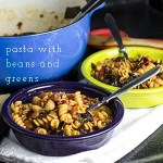 Pasta with Beans and Swiss Chard