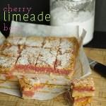 Cherry Limeade Bars
