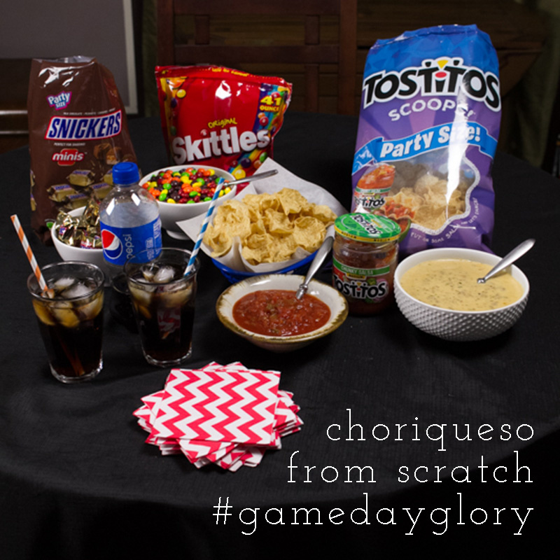 ... choriqueso is a surefire way to win big with your guests on game day