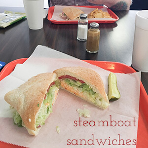 Steamboat Sandwiches on Shallowford Road in Chattanooga, Tennessee is a great place to get excellent sandwiches at amazing prices during the workday!   review from Chattavore.com
