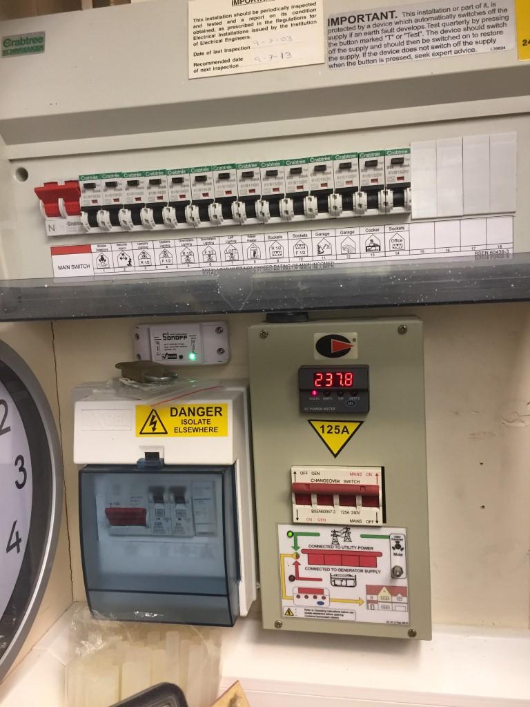 crabtree garage consumer unit wiring diagram