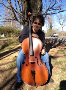me and my cello