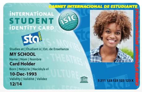 ISIC/ ITIC/ IYTC Card Chestnut Hill College