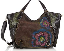 Desigual-Rotterdam-Flower-Diamond-Shoulder-Bag-Brown-One-Size-0