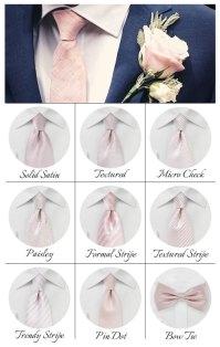 Cheap Blush Pink Ties | Cheap-Neckties.com