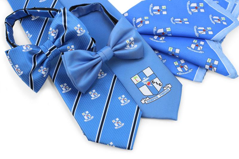 Custom Logo Neckties Bow Ties And Pocket Squares News