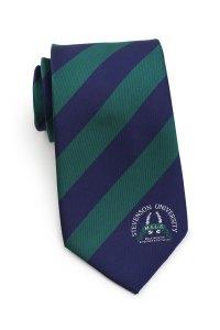 Custom Striped Ties for Universities and Schools