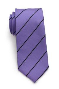 Custom Pantone Color Matched Ties - Backside Logo Ties