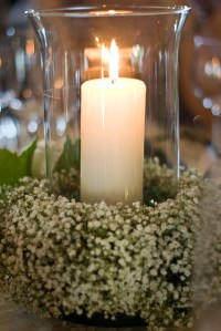 Flower And Candle Centerpiece - Inexpensive Ideas For Your ...