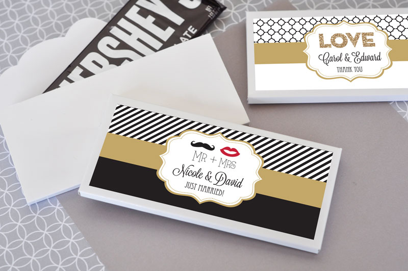 Personalized Theme Candy Wrapper Covers
