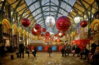 Christmas at Covent Garden | Miles Away Travel Blog