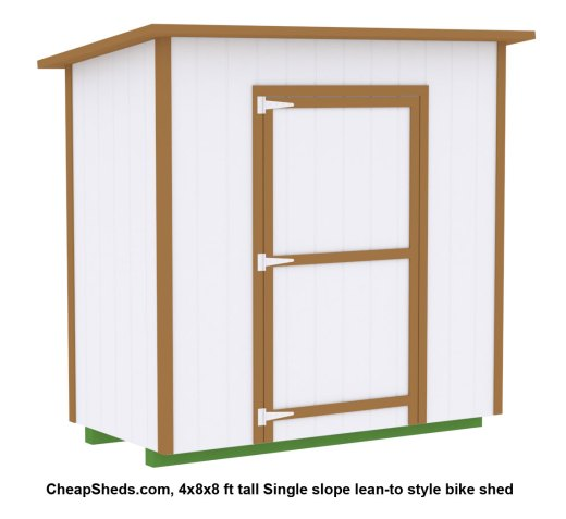 larger bike shed