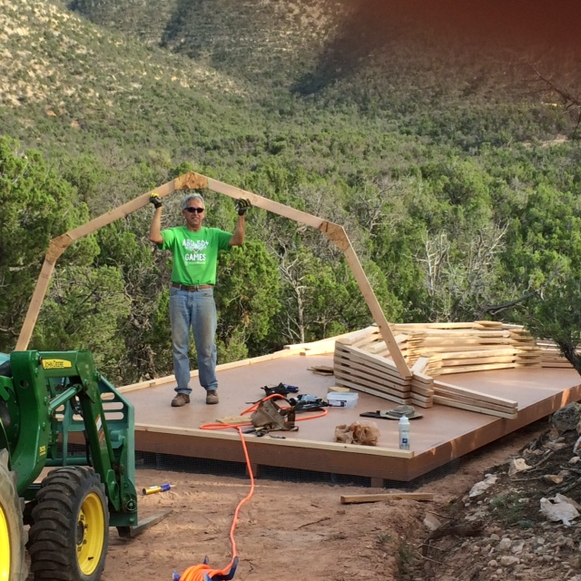 how to build barn style shed trusses