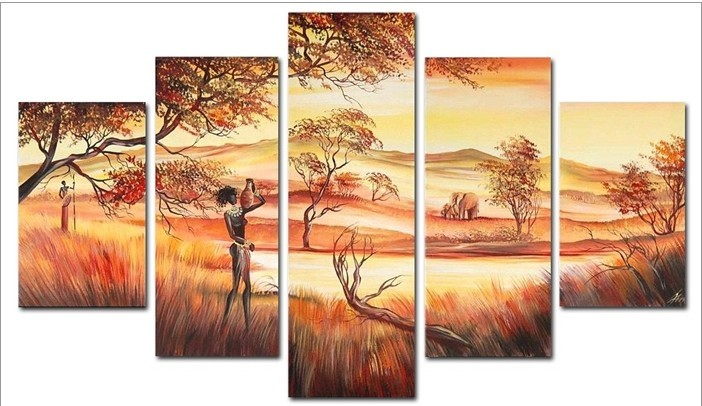 Comfortable African Wall Art Cheap Canvas Art Oil Paintings For Sale ...