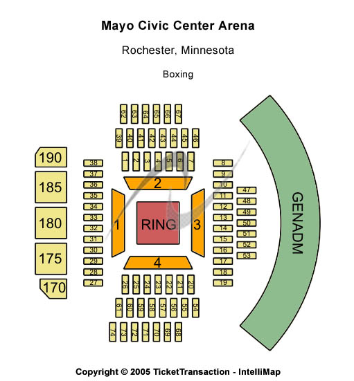 Cheap Mayo Civic Center Arena tickets