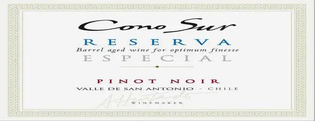 Cono Sur Reserva Especial Pinot Noir 2014
