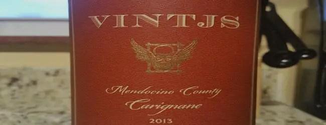 VINTJS Mendocino County Carignane 2013