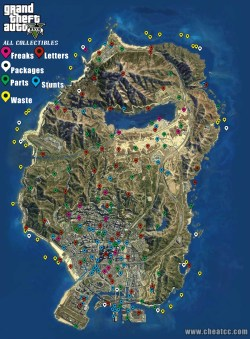 All collectible locations