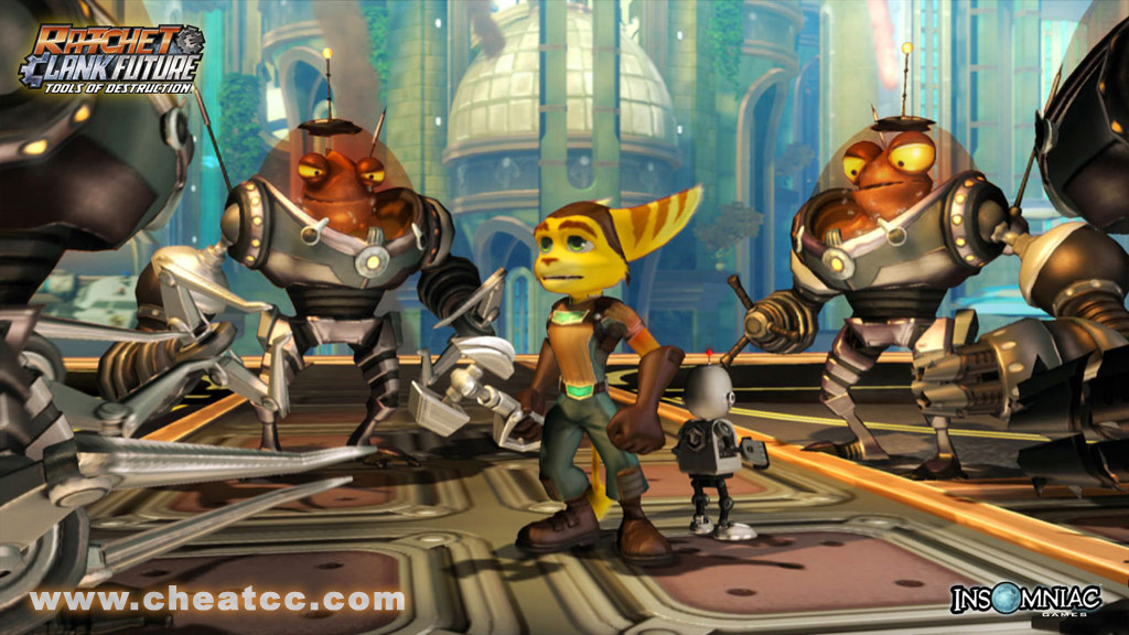 Resistance Fall Of Man Wallpaper Ratchet Amp Clank Future Tools Of Destruction Review For