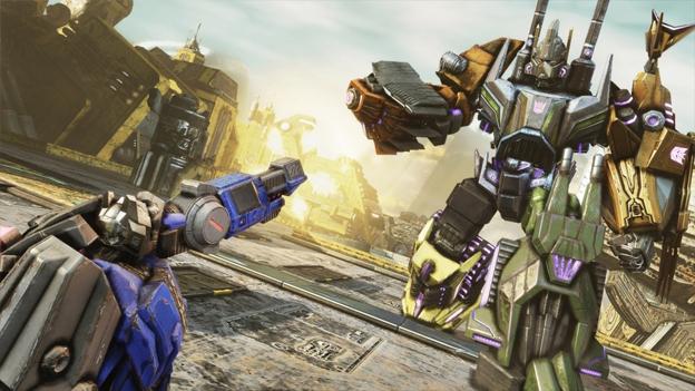 Transformers Fall Of Cybertron 4k Wallpaper Transformers Fall Of Cybertron Review For Playstation 3