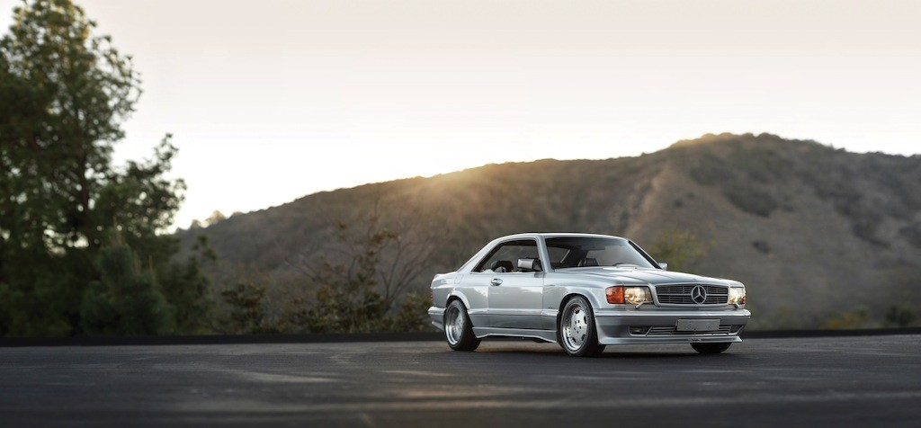 Very Best Sports Car Wallpaper Mercedes 560 Sec Amg The Next 80s Blue Chip Collectible