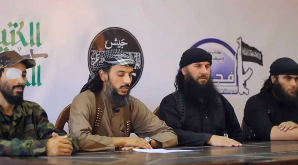 "JMA Merger: The End Of ""Caucasus Emirate In Syria""?"