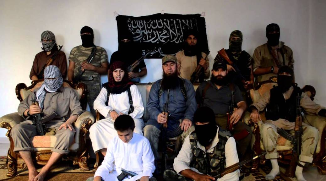 British Jihadi In Video Address By New Emir of Sayfullah Shishani's Jamaat