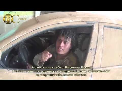 IS Jihadi Threatens Putin, Russian & Ukrainian Media Reacts