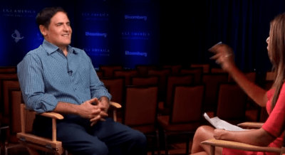 Mark Cuban, 'Only Morons Start a Business On a Loan.- checkissuing.com