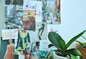 Vision Board | Foto: Maia Sagmeister