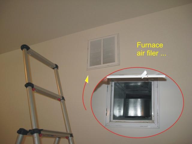 Condo Furnace Above The Ceiling The Unprofessional Way