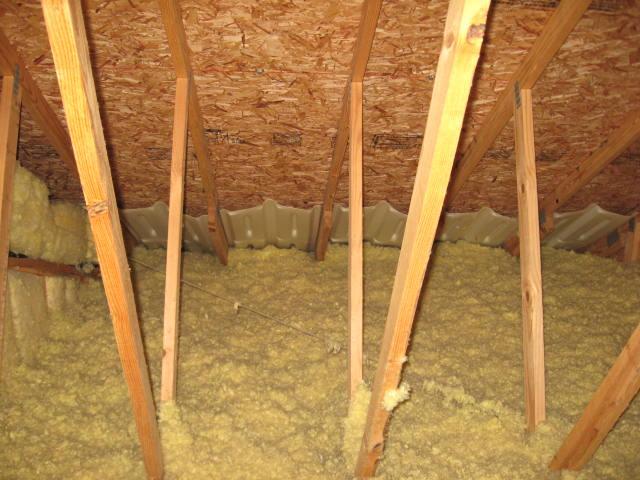 Attic Ventilation Vent Chutes Roof Soffit Vents
